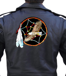 Native Indian eagle patch
