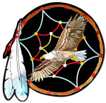 Indian dream catcher patch