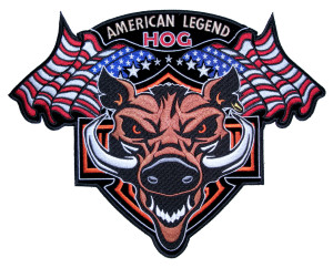 American legend flag patch
