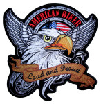 American biker eagle biker patch