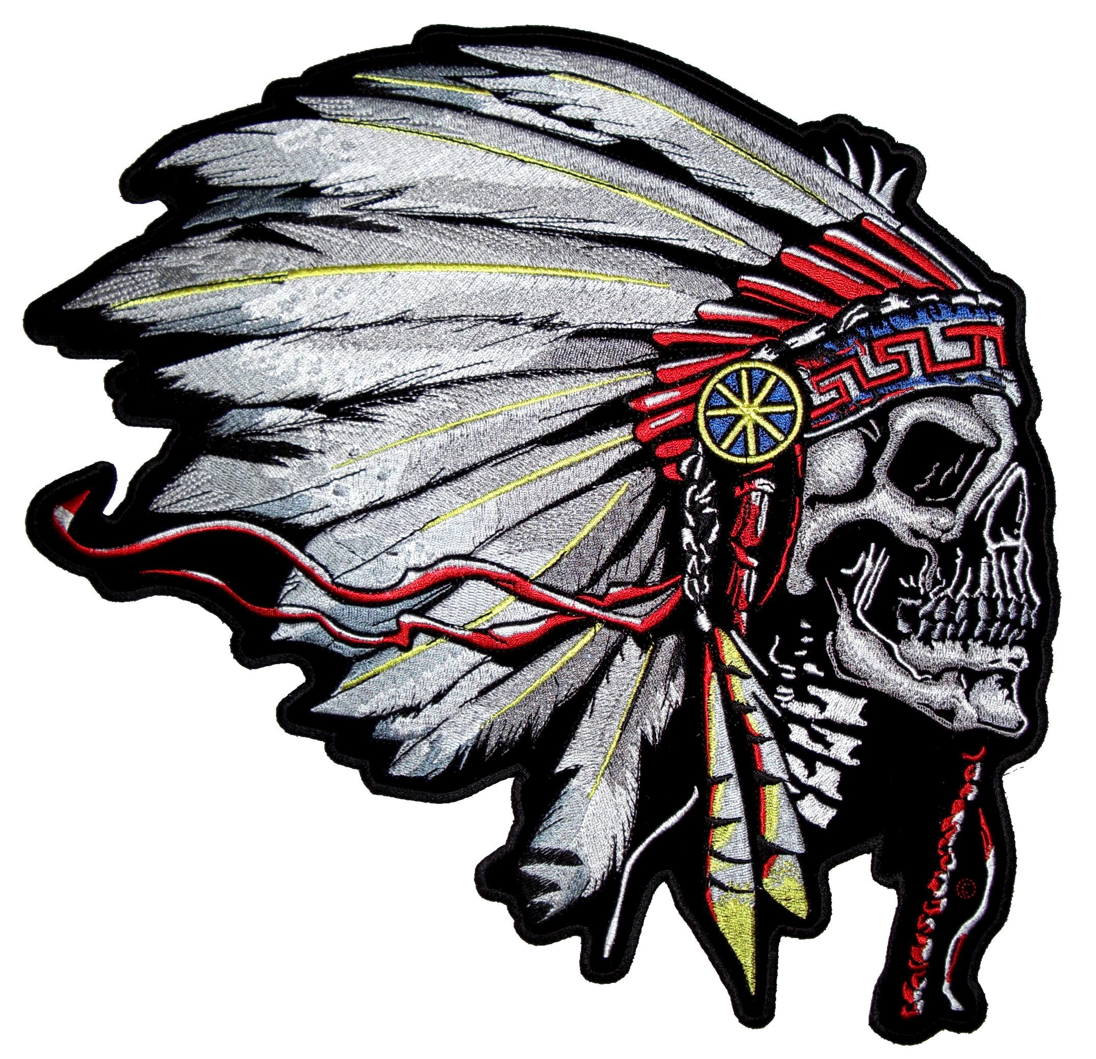 indian chief skull logo wwwpixsharkcom images