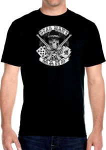 Aces and eights mens biker shirt