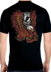 POW-MIA eagle biker shirt