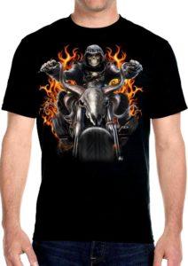 Men's grim reaper tee shirt