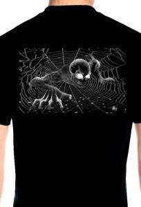 Ghost demon biker shirt