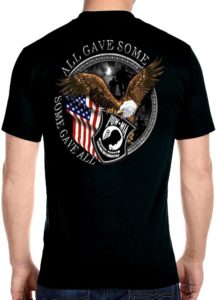Men's POW-MIA tee shirt