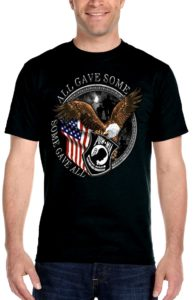 Mens patriotic tee shirt
