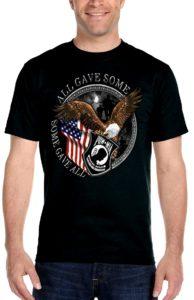 Mens patriotic tee shirt