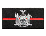 Thin red line NY firefighter patch