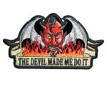 The Devil made me do it patch
