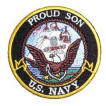 Proud son US Navy patch