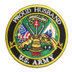 Proud Husband Army patch