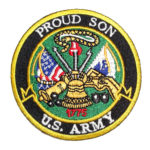 Proud Son Army patch
