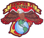 US Marines Semper Fi patch