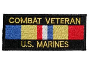 Combat Marines vet patch