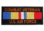 Combat Vet Air Force patch