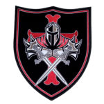 Templar knight shield patch