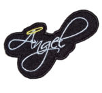 Angel with Halo lady patch