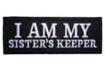 I am my sister's keeper lady patch
