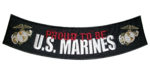 Proud to be US Marines patch