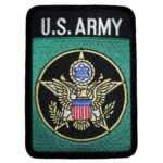 US Army and logo patch