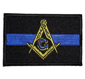 Masonic blue line patch