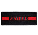 Retired thin red line patch