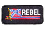 Rebel Confederate flag patch