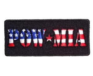 Patriotic POW-MIA patch