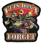 Vets don't forget patch
