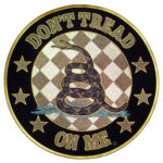 Don't tread on me Gadsden snake patch