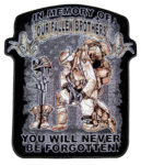 In memory of our fallen soldiers patch