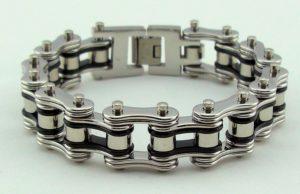 unisex roller biker bracelet jewelry