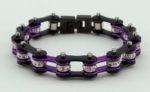 woman's biker chain bracelet