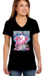 Ladies 2017 bike week tee