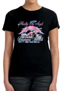 Ladies 2017 bike week shirt