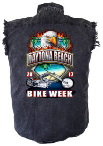 Mens 2017 bike week shirt