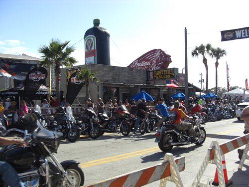 Main Street at Daytona Beach Bike Week 2017