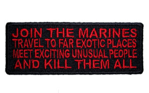 Marines saying patch