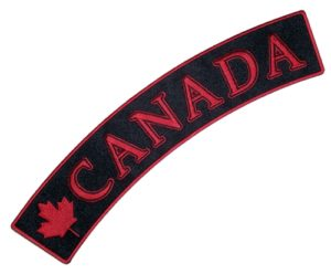 canada rocker patch