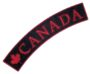 canada and maple leaf rocker