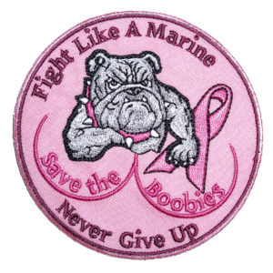 bulldog breast cancer awareness