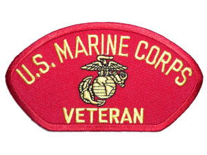 Marines hat patch