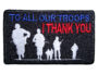 thank our troops patch