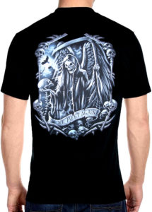 Grim Reaper we meet again t shirt