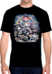 pirate dead mans skull t shirt