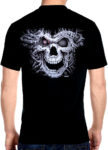cyborg terminator biker t-shirt