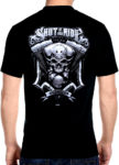 skull shut up and ride 1974 tee