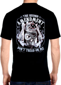 2nd amendment don't tread on me tee