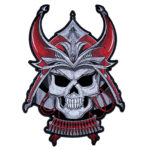Samurai Bushido Warrior skull patch